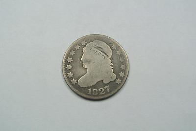 1827 Capped Bust 10 Cents, Dime, AG Condition - C2433