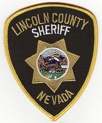 NV Lincoln County Nevada Sheriff Police Patch *New*