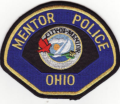 OH Mentor Ohio Police Patch