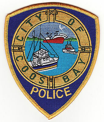 OR Coos Bay Oregon Police Patch *New*
