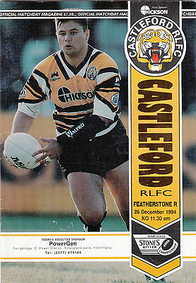 Castleford v Featherstone Rovers 1994/5