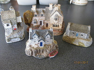 Lilliput Lane - Job Lot Of 4 Large Cottages (1)