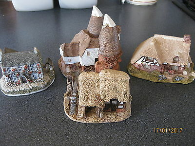 Lilliput Lane - Job Lot Of 4 Large Cottages (2)