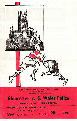 Gloucester v South Wales Police 1973/4 (12 Sep)