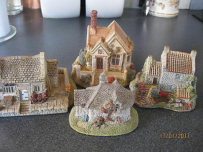 Lilliput Lane - Job Lot Of 4 Large Cottages (3)