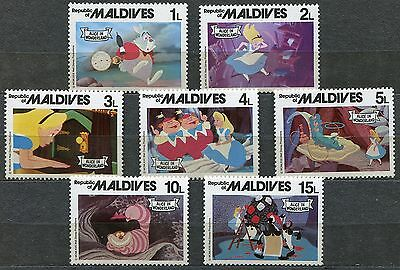 DISNEY 356 - Alice in Wonderland - MALDIVES - MNH Lot