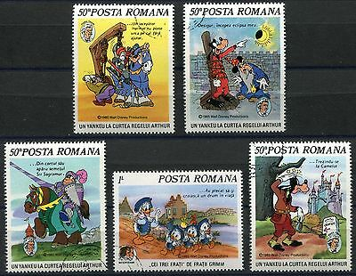 DISNEY 369 - Animated Characters - ROMANIA - USED