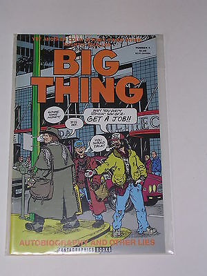 BIG THING #4 Underground Comix by FANTAGRAPHICS BOOKS