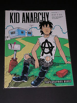 KID ANARCHY Underground Comix by FANTAGRAPHICS
