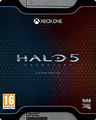 XBOX ONE * NEW SEALED Game * HALO 5 GUARDIANS * LIMITED EDITION *