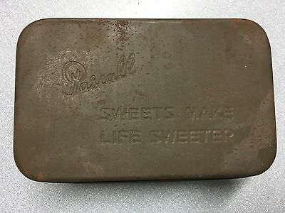Pascale vintage sweet tin 'Sweets make life sweeter'