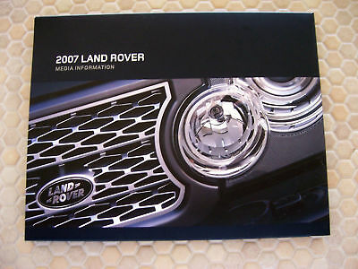 Land Rover Range Rover Sport Lr3 Official Press Brochure 2007 Usa Edition