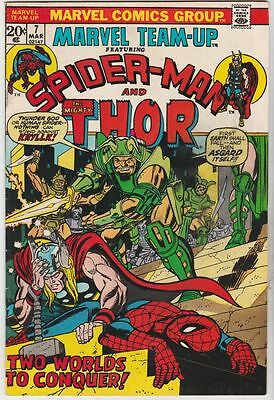 Marvel Team-Up #7 Spider-Man Thor strict VF/NM 9.0 High-Grade  Many more up now