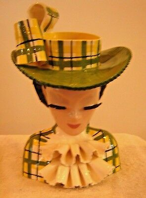 Betty Lou Nichols Florabelle 11 Inch Head Vase Headvase