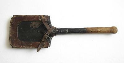 Original German Ww1 Trench Shovel Spade With Carrier