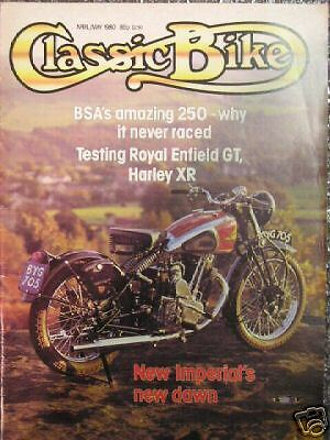 Classic Bike April May 80 New Imperial's