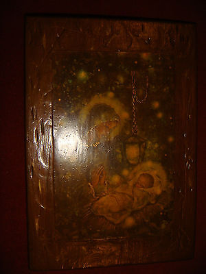 Vintage Wooden Russian Icon 1967