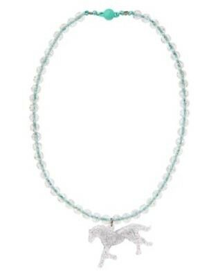 Gymboree Wild for Horses Necklace Girls Horse Western Jewelry New