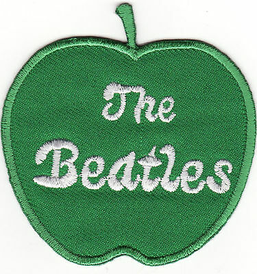 The Beatles Green Apple Rock Music Iron On Patch *New*