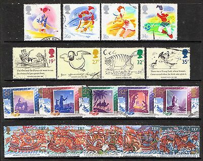 QEII 1988  4 used Commemorative sets (j327)