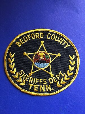 Bedford County Tennessee Sheriff  Shoulder  Patch