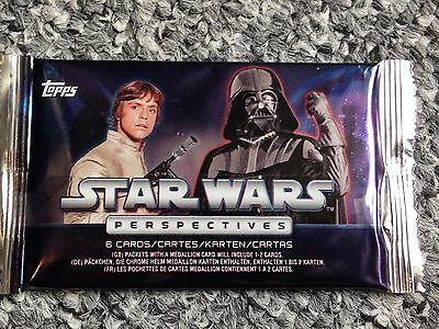 Brand new STAR WARS perspectives topps trading cards sealed pack