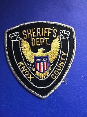 Knox  County Tennessee Sheriff  Shoulder  Patch