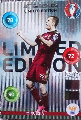 LIMITED EDITION (CLASSIC) auswählen / to choose EURO 2016 Panini Adrenalyn EM 16