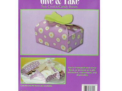 Bulk Buys PB773-96 Spring Flowers Candy & Cookie Boxes 96 Piece