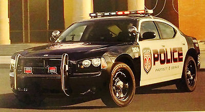 POLICE Vehicle Brochure 2008 Dodge Charger Patrol CHP Sheriff NEW see other item