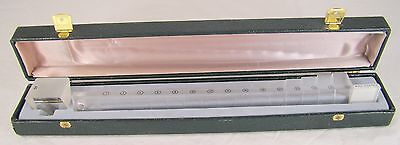 French Made Luneau Ophthalmic Horizontal Prism Bar In Original Case