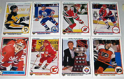 1990 NHL ICE HOCKEY PLAYER CARDS Canada & United States