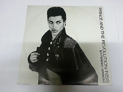 "PRINCE & The Revolution - KISS (Extended Version) - Vinyl Maxi 45T 12""  - TBE"