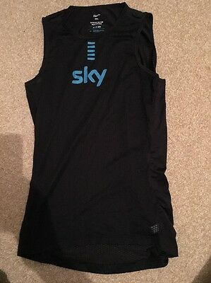 Team Sky Rapha Mesh Cycling Undervest