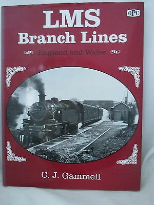 Lms Branch Lines England & Wales ~ Gammell. Opc. London Midland & Scottish Railw