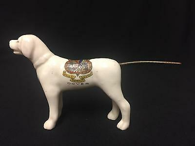Carlton Crested China Ladrador Dog With Articulated Tail - Dover Crest