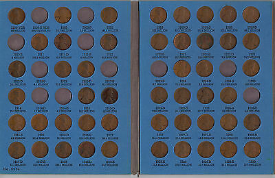 Whitman Penny Book 1909 to 1940 With Coins