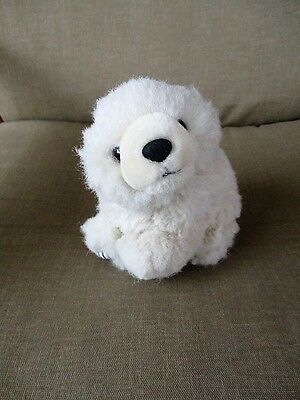"Smithsonian Wild Heritage Collection POLAR BEAR 8"" Long Stuffed Plush"