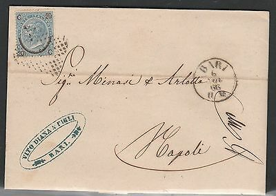 Italy , 1866 Fine Cover, See!!