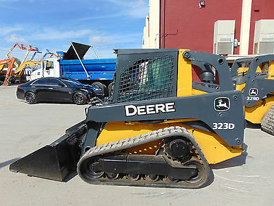 """2012 John Deere 323D Turbo """"enclosed A/c"""" Super Loaded - Hyd Coupler - Stereo"""