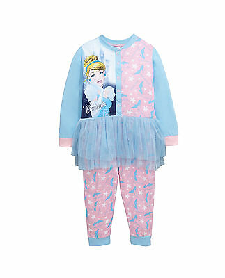 Disney Girls Princess Tutu Sleepsuit in Multi Size 5-6 Years