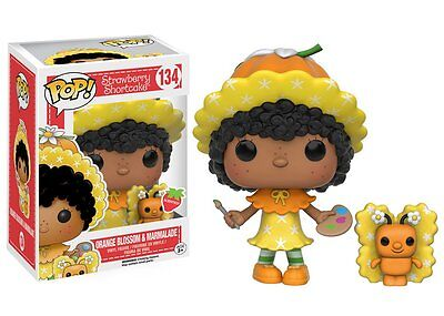 Funko Pop Animation Strawberry Shortcake Orange Blossom & Marmalade Vinyl Figure