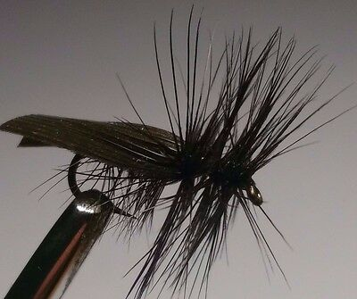 Black Sedge Trout Buzzers Trout Lures Dry Fly Fishing Trout Flies