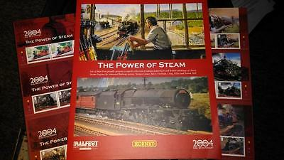 2004 IOM Isle of Man Power of Steam Special Hornby Presentation stamp Pack
