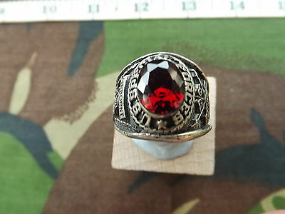 U.S. Army, SPECIAL FORCES, 925 Silver College Ring
