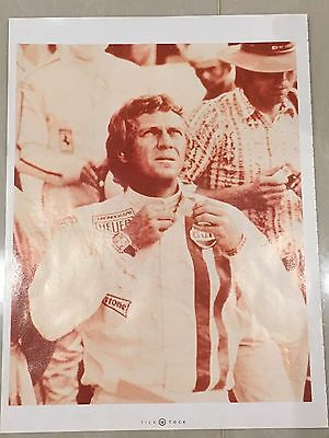 1990's Steve McQueen Tag Heuer Watch Colour A4 Advert