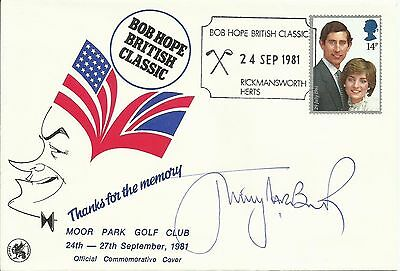 JIMMY TARBUCK, Bob Hope British Classic FDC, ORIGINALLY SIGNED!