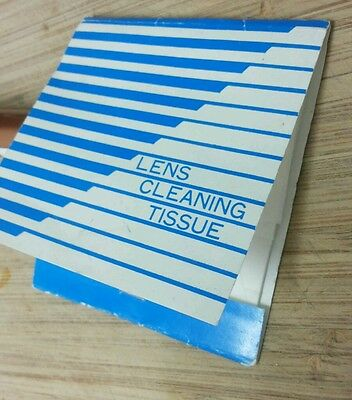 Glasses Lens Cleaning Tissue & Cloth  15 Sheets Left Free Post