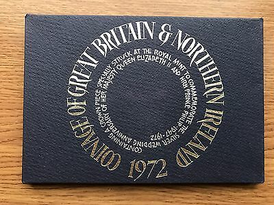 1972 Royal Mint Proof 7 Coin Collection - Original Sleeve UK/GB Year Set