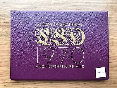 1970 Royal Mint Proof 8 Coin Collection -Original Sleeve & Cert UK/GB Year Set10